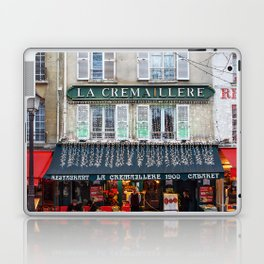 Streets of Paris Laptop & iPad Skin