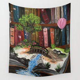 Book Experience Wall Tapestry