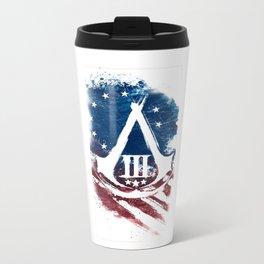 Assassin custom Logo American Stripe Travel Mug