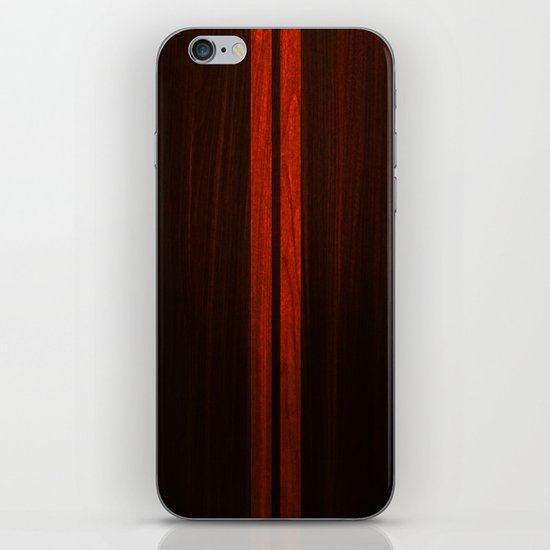 Wooden Striped Oak case iPhone & iPod Skin