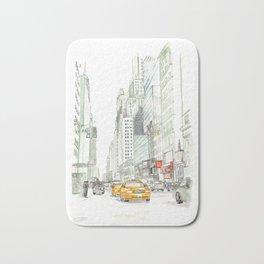 New York City Taxi Bath Mat