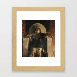 The Empress Theodora, Jean-Joseph Benjamin-Constant Framed Art Print