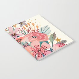 Floral bouquet Notebook