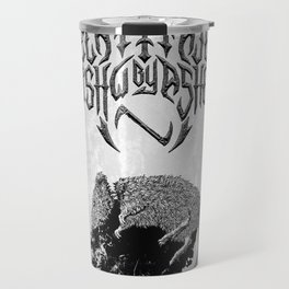 Decapitated by dishwasher I (white) Travel Mug