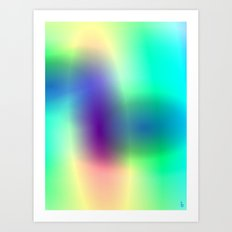 Aura Gems I Art Print