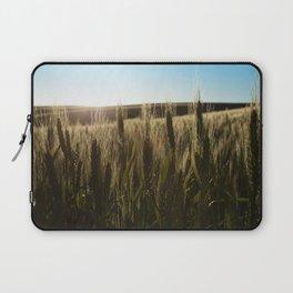 Wheat Stalks Photography Print Laptop Sleeve
