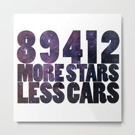 89412 Stars Metal Print