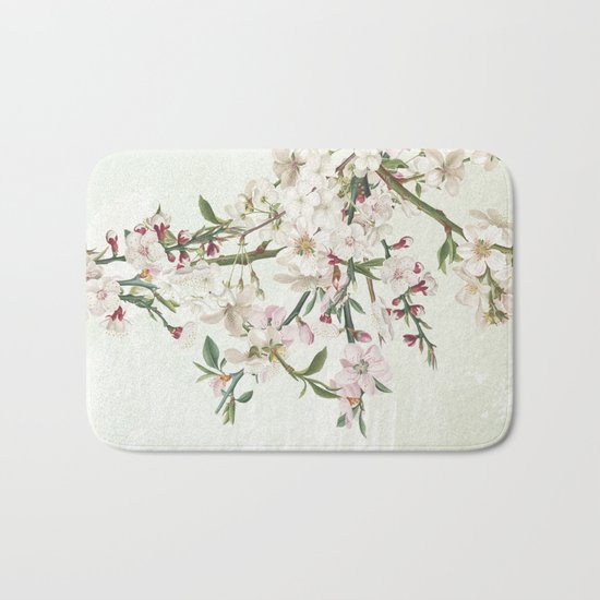 Bloom and blossom Bath Mat