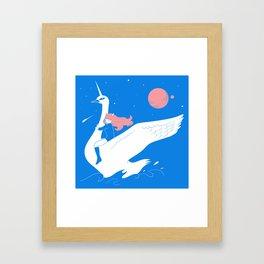 Magical escape Framed Art Print