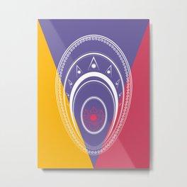Circles #4 Metal Print