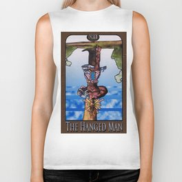 The Hanged Man Biker Tank