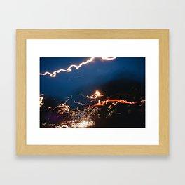 streak Framed Art Print