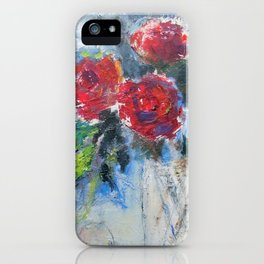 Roses in Rouge iPhone Case