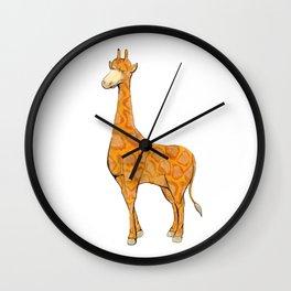 giraffe simple animal Wall Clock