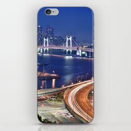 Gwangandaegyo Bridge (Busan, South Korea) iPhone Skin