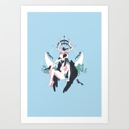 Blackbird Art Print