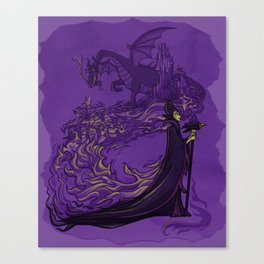 Something Wicked this way Comes... Canvas Print