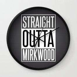 Straight outta Mirkwood Wall Clock