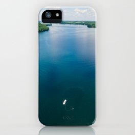 Waterskiier iPhone Case