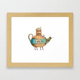 It's Time For Tea Framed Art Print