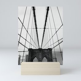 Over The Bridge, New York. Mini Art Print