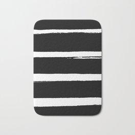 BLK Stripes Bath Mat