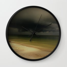 Storm Comin In Wall Clock