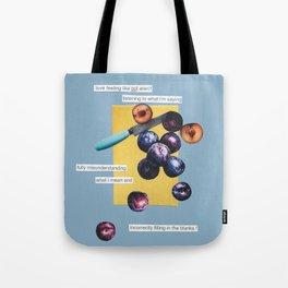 nice plums Tote Bag