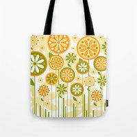 sunshine Tote Bags featuring Sunshine by Shelly Bremmer