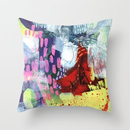 Leave It To Beavers Throw Pillow