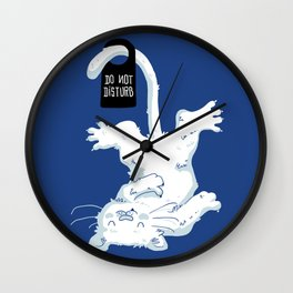 Do not disturb! Wall Clock