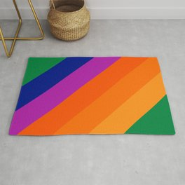 Simple Stripes - Grass Rug