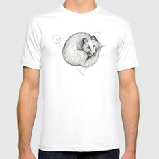 'Wildlife Analysis V' Mens Fitted Tee White SMALL