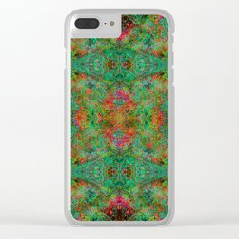 Mr. Fire From Ice Clear iPhone Case