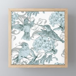 VINTAGE BIRDS Framed Mini Art Print