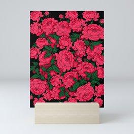 Red Peonies Mini Art Print