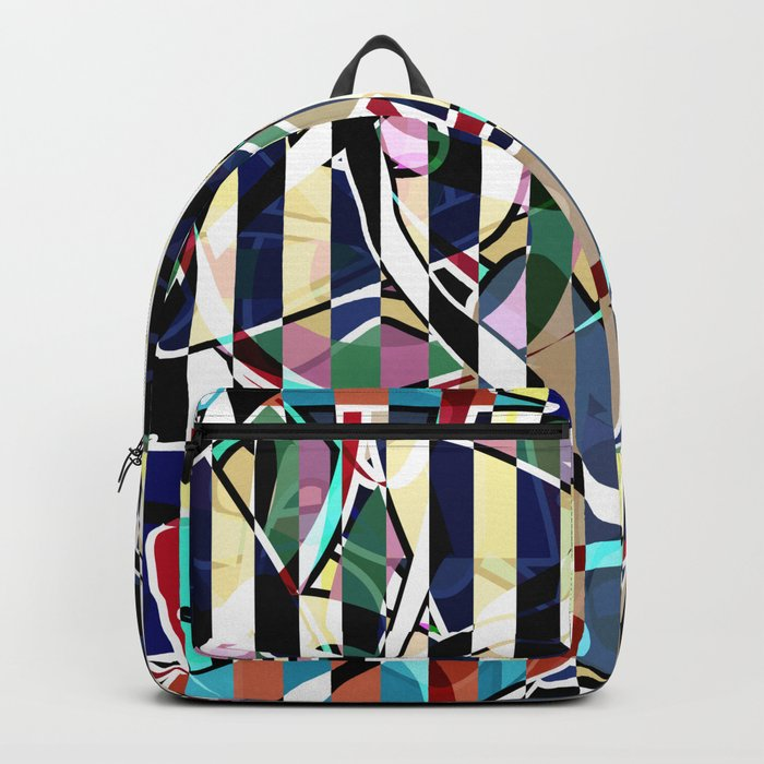 Creative stripes #stripes #abstract Backpack
