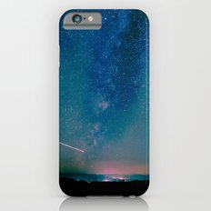 Stars and Space Night Sky - Teal Starry Milky Way in Arizona iPhone 6s Slim Case