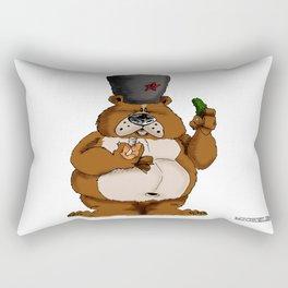Russian Bear Rectangular Pillow