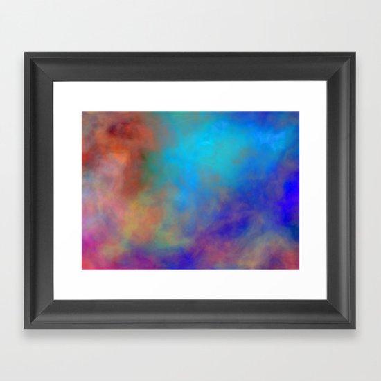 Heaven isn't Too Far Framed Art Print