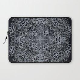 Crocheted Lace Mandala Laptop Sleeve