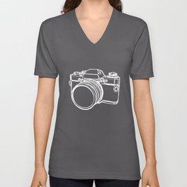 Camera 1 Unisex V-Neck