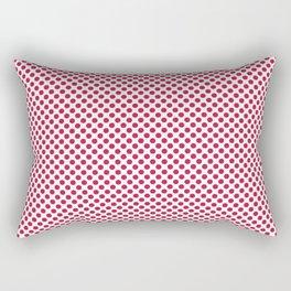 Barberry Polka Dots Rectangular Pillow