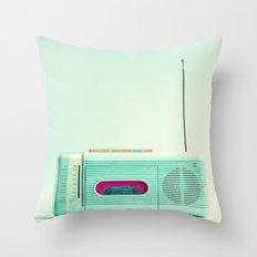 Radio Days  Throw Pillow