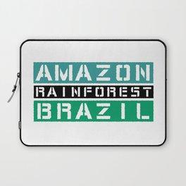Amazon rainforest Brazil Laptop Sleeve