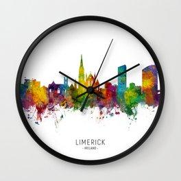 Limerick Ireland Skyline Wall Clock