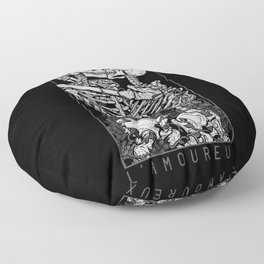 The Lovers Floor Pillow
