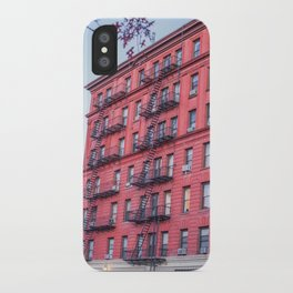 New York Building Fire Escapes iPhone Case