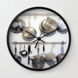 Pots and Pans Wall Clock