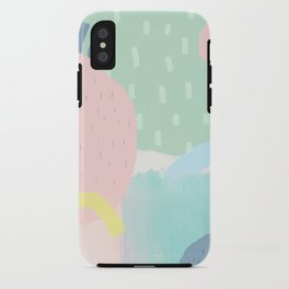 100 Spring iPhone Case